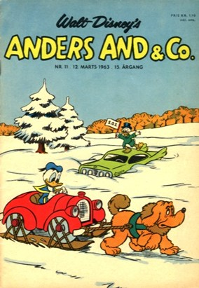 Anders And & Co. nr.  11 - 1963 (lille)