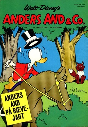 Anders And & Co. nr.  11 - 1968 (lille)
