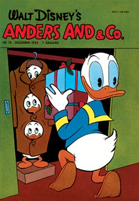 Anders And & Co. nr.  12 - 1955 (lille)