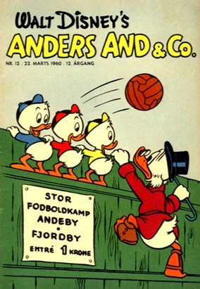 Anders And & Co. nr.  12 - 1960 (lille)