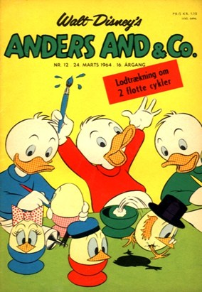 Anders And & Co. nr.  12 - 1964 (lille)