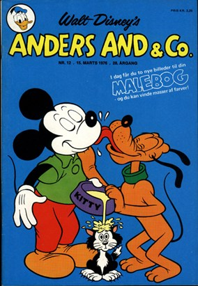 Anders And & Co. nr.  12 - 1976 (lille)