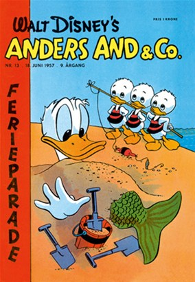 Anders And & Co. nr.  13 - 1957 (lille)