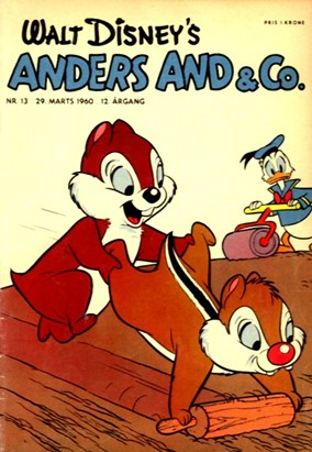 Anders And & Co. nr.  13 - 1960 (lille)