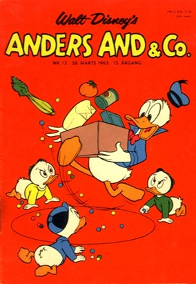 Anders And & Co. nr.  13 - 1963 (lille)