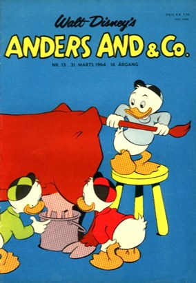 Anders And & Co. nr.  13 - 1964 (lille)