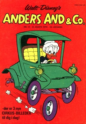 Anders And & Co. nr.  13 - 1970 (lille)