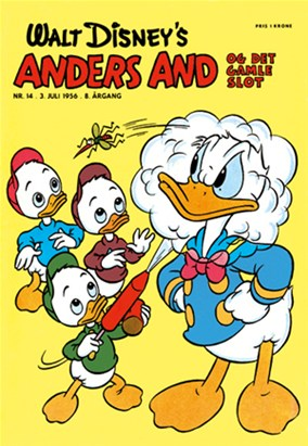 Anders And & Co. nr.  14 - 1956 (lille)