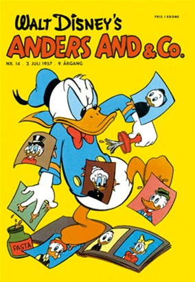 Anders And & Co. nr.  14 - 1957 (lille)