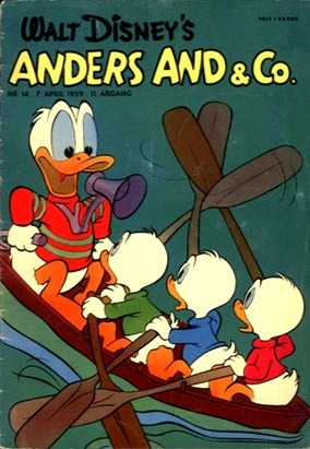Anders And & Co. nr.  14 - 1959 (lille)