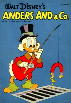 Anders And & Co. nr.  14 - 1960 (lille)
