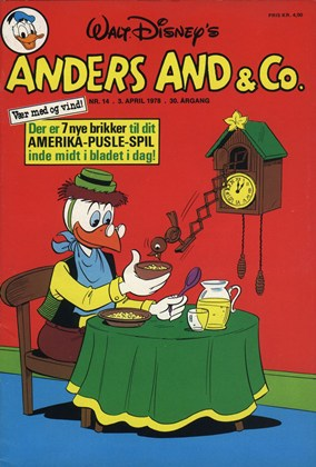 Anders And & Co. nr.  14 - 1978 (lille)