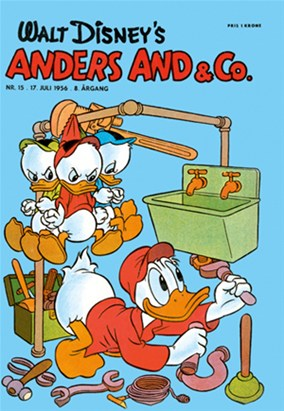 Anders And & Co. nr.  15 - 1956 (lille)