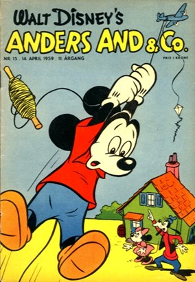Anders And & Co. nr.  15 - 1959 (lille)