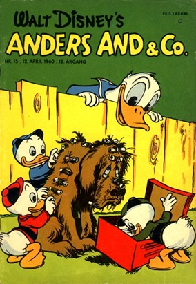 Anders And & Co. nr.  15 - 1960 (lille)