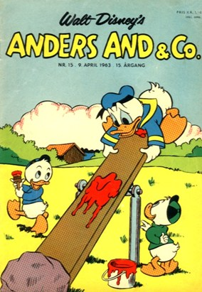 Anders And & Co. nr.  15 - 1963 (lille)