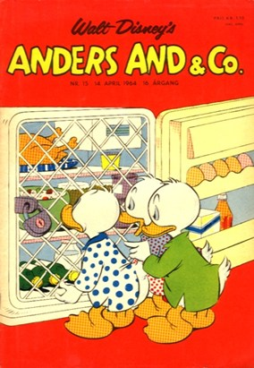 Anders And & Co. nr.  15 - 1964 (lille)
