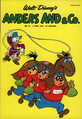Anders And & Co. nr.  15 - 1975 (lille)