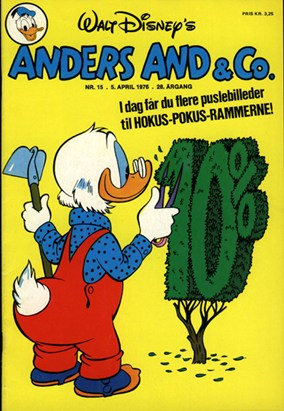 Anders And & Co. nr.  15 - 1976 (lille)