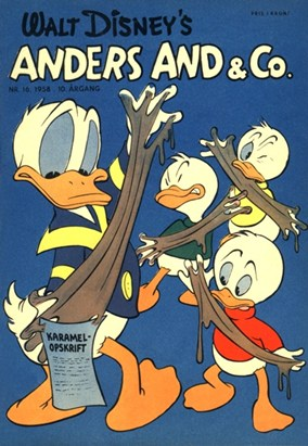 Anders And & Co. nr.  16 - 1958 (lille)
