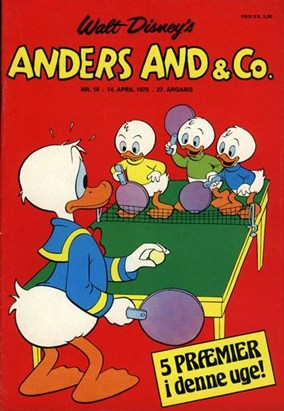 Anders And & Co. nr.  16 - 1975 (lille)