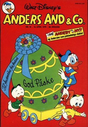 Anders And & Co. nr.  16 - 1976 (lille)