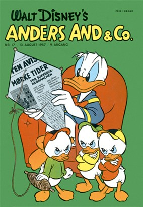 Anders And & Co. nr.  17 - 1957 (lille)