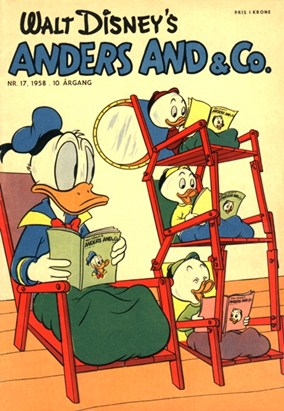 Anders And & Co. nr.  17 - 1958 (lille)