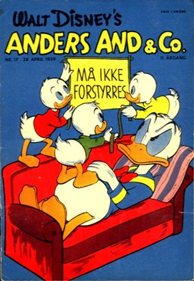 Anders And & Co. nr.  17 - 1959 (lille)