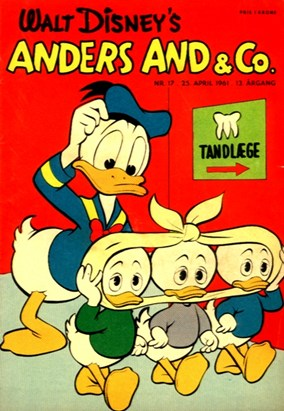 Anders And & Co. nr.  17 - 1961 (lille)