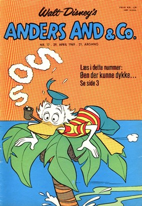 Anders And & Co. nr.  17 - 1969 (lille)