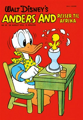 Anders And & Co. nr.  18 - 1956 (lille)
