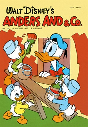 Anders And & Co. nr.  18 - 1957 (lille)