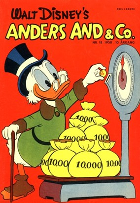 Anders And & Co. nr.  18 - 1958 (lille)