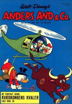 Anders And & Co. nr.  18 - 1968 (lille)