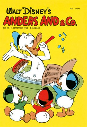 Anders And & Co. nr.  19 - 1956 (lille)