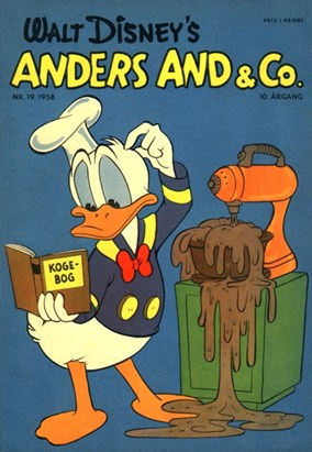 Anders And & Co. nr.  19 - 1958 (lille)