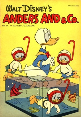 Anders And & Co. nr.  19 - 1960 (lille)