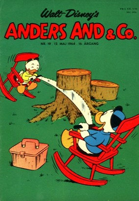 Anders And & Co. nr.  19 - 1964 (lille)