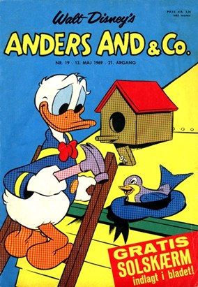 Anders And & Co. nr.  19 - 1969 (lille)