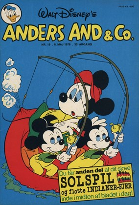 Anders And & Co. nr.  19 - 1978 (lille)