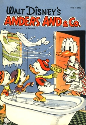 Anders And & Co. nr.  2 - 1951 (lille)