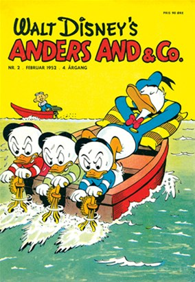 Anders And & Co. nr.  2 - 1952 (lille)