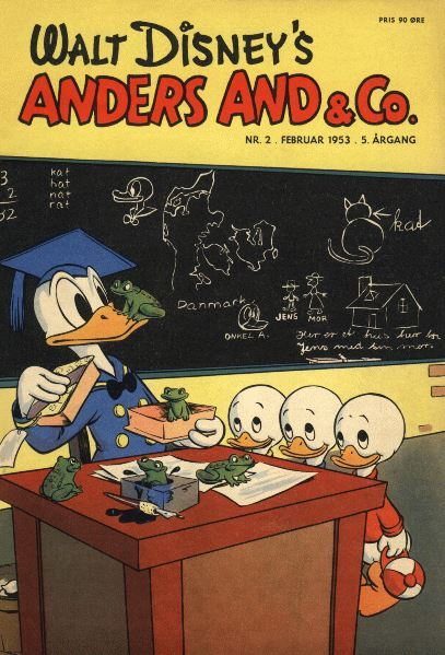 Anders And & Co. nr.  2 - 1953 (lille)