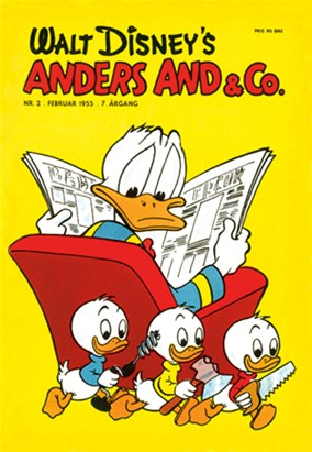 Anders And & Co. nr.  2 - 1955 (lille)