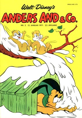 Anders And & Co. nr.  2 - 1971 (lille)