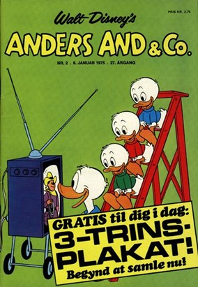 Anders And & Co. nr.  2 - 1975 (lille)