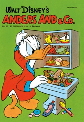 Anders And & Co. nr.  20 - 1956 (lille)