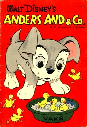 Anders And & Co. nr.  20 - 1959 (lille)