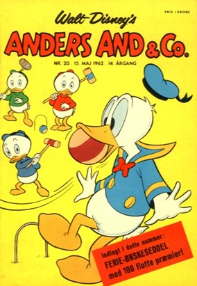 Anders And & Co. nr.  20 - 1962 (lille)